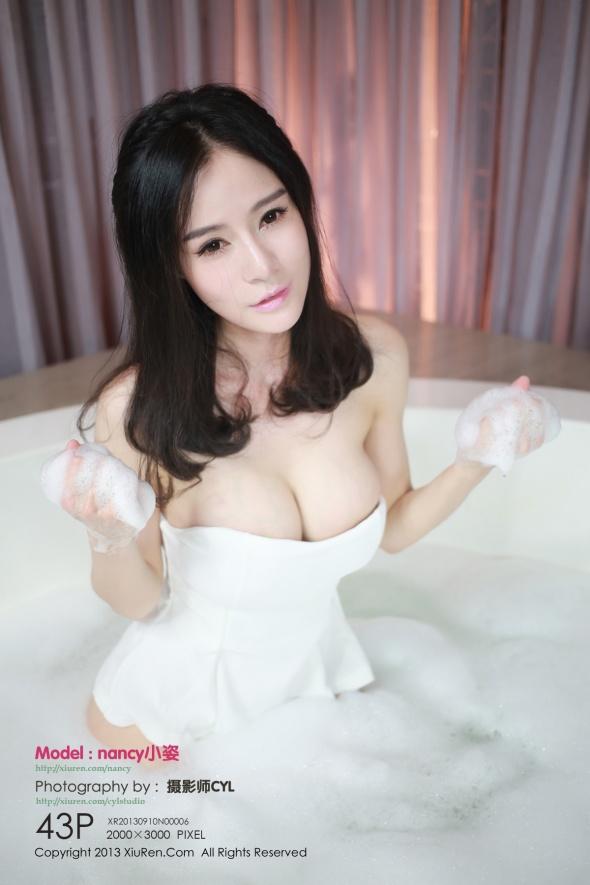 [XIUREN秀人网]XR20130910N00006 nancy小姿 白色