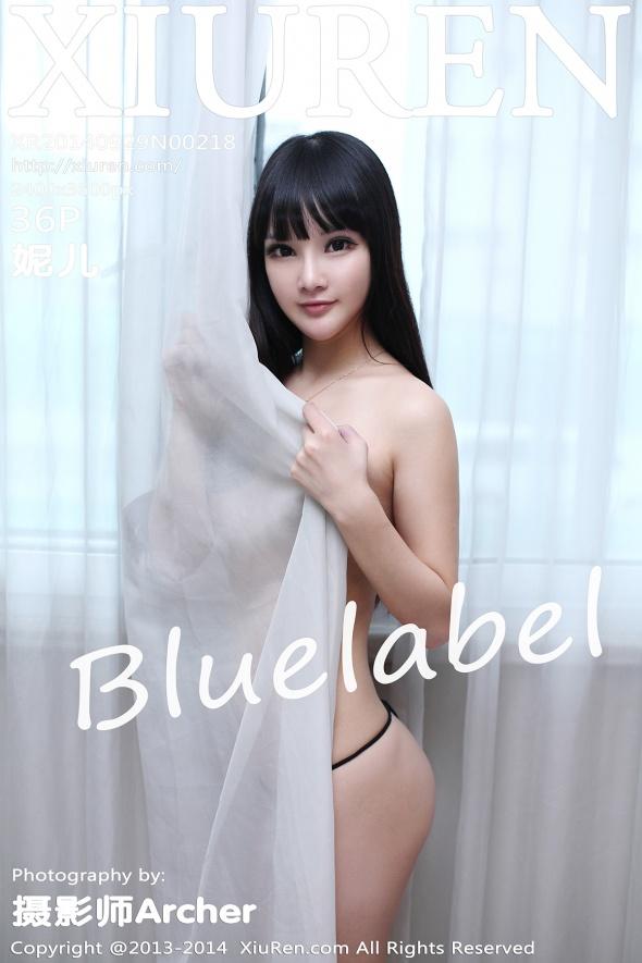 [XIUREN秀人网]XR20140929N00218 妮儿Bluelabel