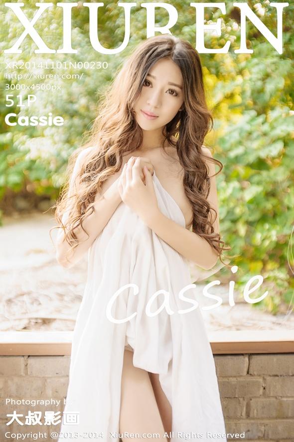 [XIUREN秀人网]XR20141101N00230 Cassie